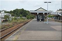 SX0754 : Par Station by N Chadwick