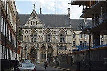 TQ3081 : Royal Courts of Justice by N Chadwick