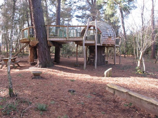 Alice's Tree House, Black Park