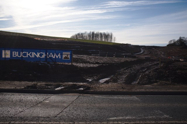 Kegworth bypass construction