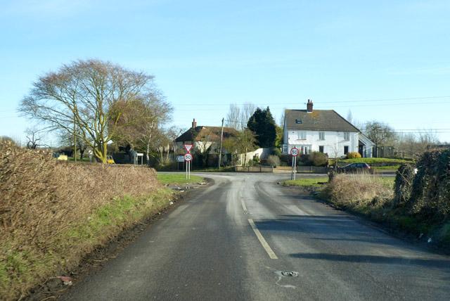 Faversham Road meets A251 Ashford Road