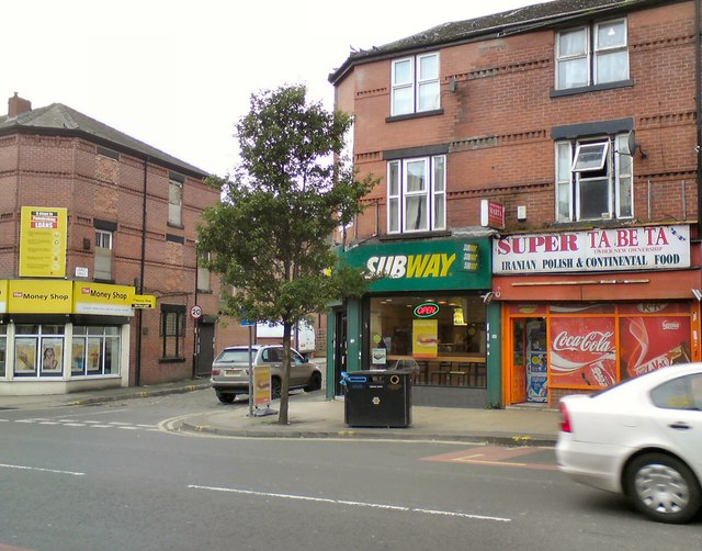 Shops on Stockport Road