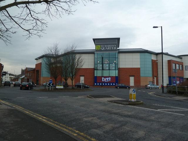 St Martin's Quarter - Worcester