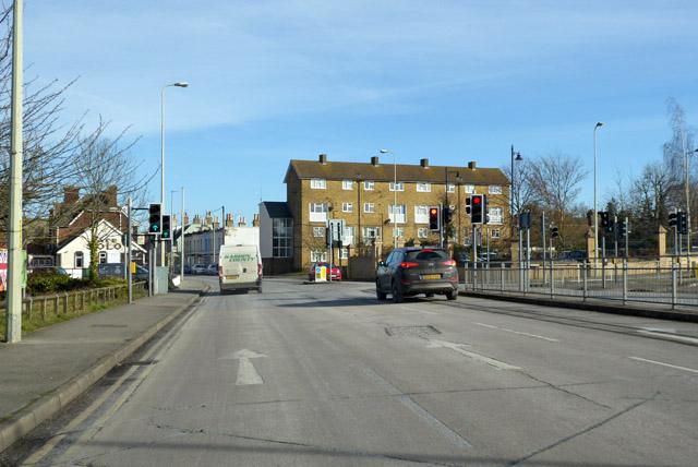 A28 into Canterbury