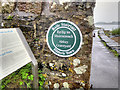 G9278 : Heritage Plaque at the Abbey Graveyard by David Dixon