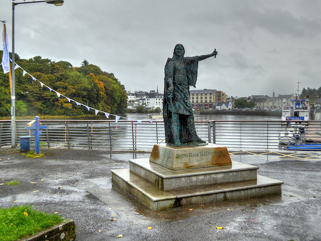 Statue of Red Hugh O'Donnell at Donegal Pier