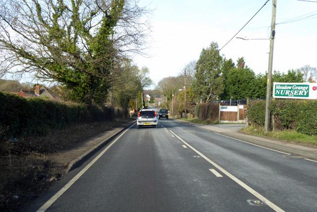 A290 past Meadow Grange Nursery