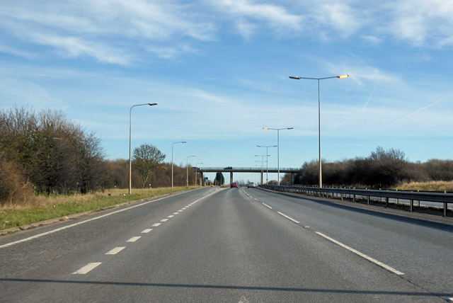 A299 Thanet Way towards Thanet