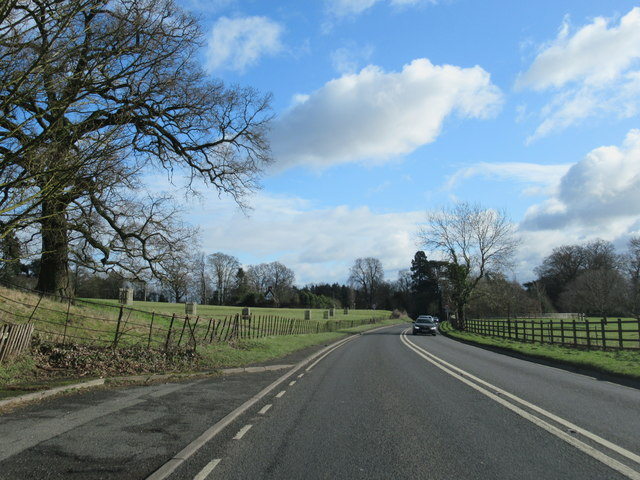A44 Approaching Spetchley