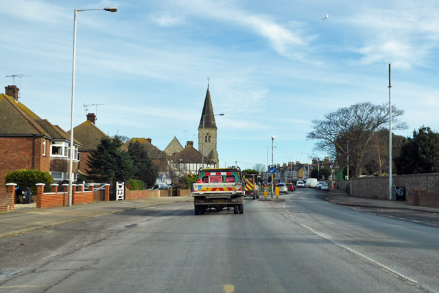A28 Canterbury Road heading east