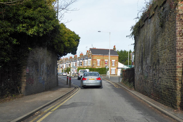 Former railway bridge over Tivoli Road, Margate