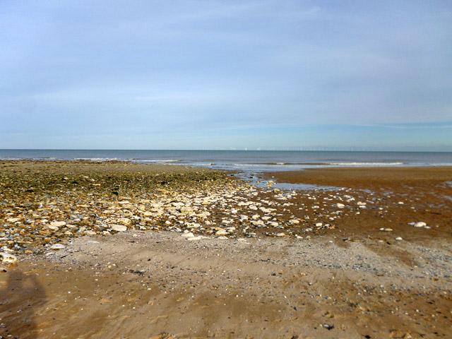 Beach near Foreness Point