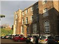 SE5952 : Car park and rear elevation of The Grange Hotel, York by Jonathan Hutchins