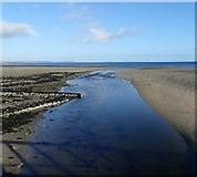 J3731 : The estuary of the Shimna River at Low Water by Eric Jones
