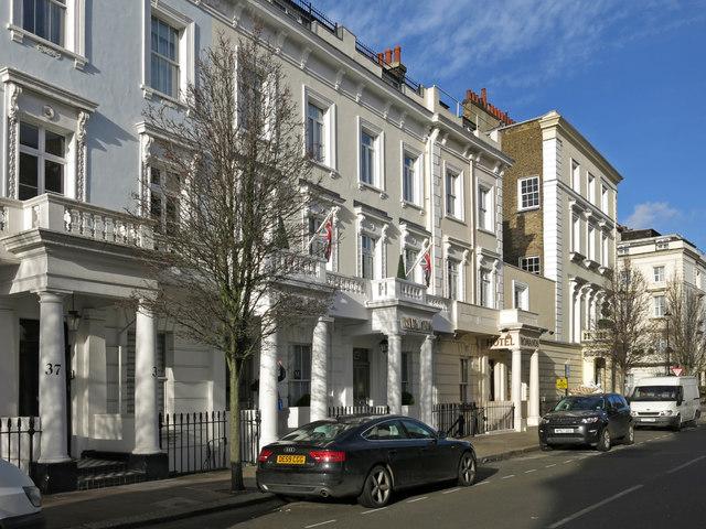 Hotels in Charlwood Street Street, SW1