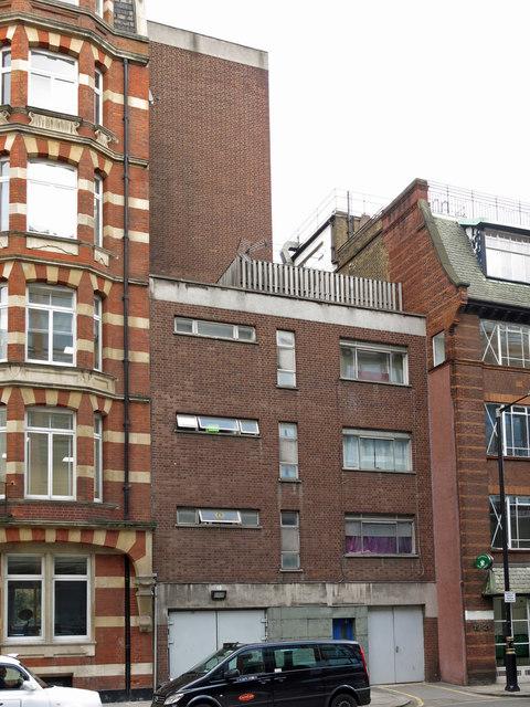 Victoria Line ventilation shaft, Palace Street, SW1