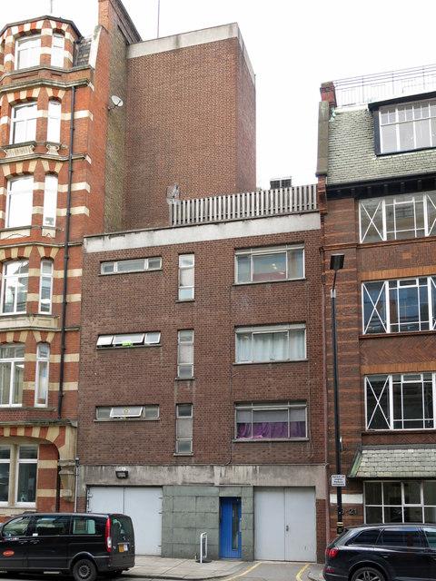 Victoria Line ventilation shaft, Palace Street, SW1 (2)