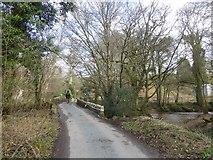 SX7383 : Bovey Bridge by David Smith