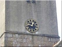 SX7383 : The clock of St John the Baptist church, North Bovey by David Smith