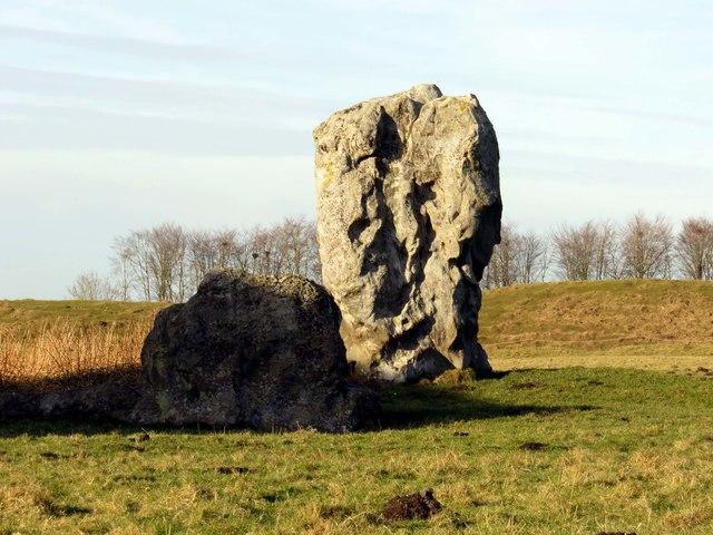 Standing stones in Avebury