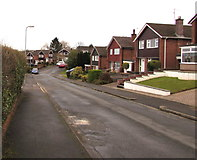 ST3091 : East along Anderson Place, Malpas, Newport by Jaggery