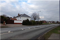 TM0659 : A1120 Church Road, Stowupland by Adrian Cable
