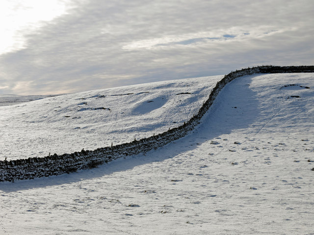 Holms Hill in the snow
