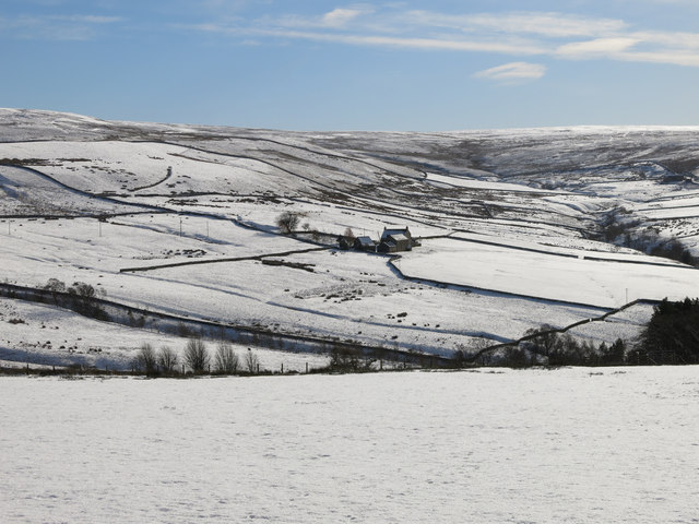 East Allen Dale around Sinderhope in the snow (2)