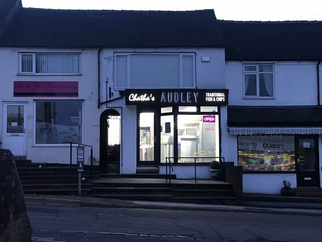 Fish and chip shop, Audley