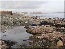 J3730 : Rock pool on the South Promenade beach by Eric Jones