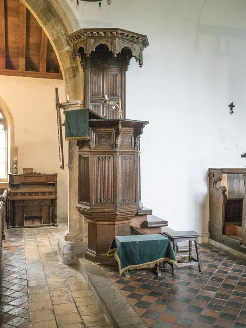 St Peter, Horningsea - Pulpit