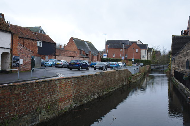 Car park by the River Slea