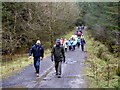 H4941 : First Omagh Church Walking Group, Mullaghfad by Kenneth  Allen