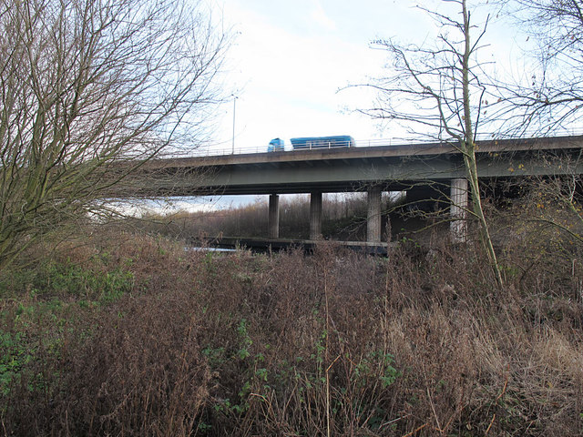 M1 Aire Valley Viaduct
