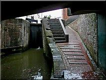 SO8554 : Sidbury Lock in Worcester by Roger  Kidd