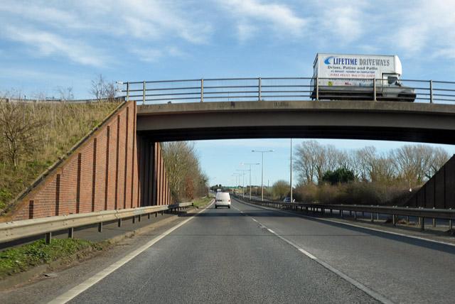 Bridge over A299 Thanet Way