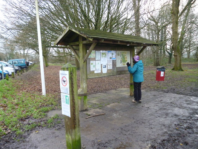 Coulsdon Common:  Information board