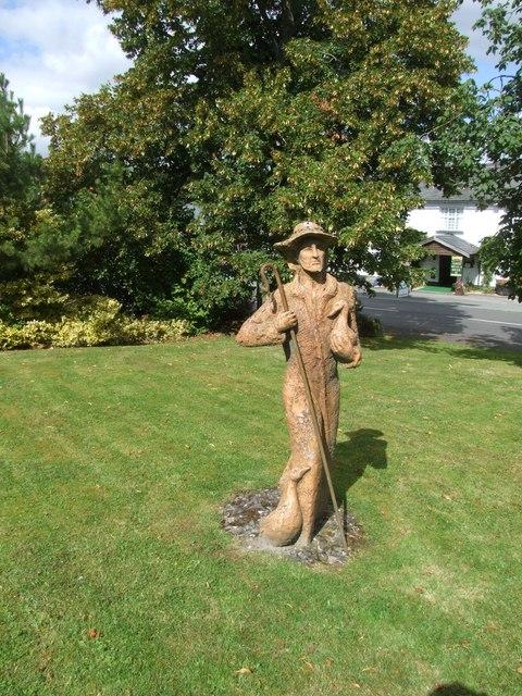 Drover Sculpture