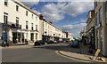 SP3166 : Looking east along Warwick Street, towards the Parade, Royal Leamington Spa by Robin Stott