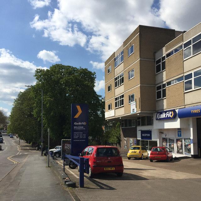 Tyre-fitting franchise, Warwick Street, Royal Leamington Spa