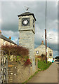 SX0683 : Millennium Clock Tower, Delabole by Derek Harper