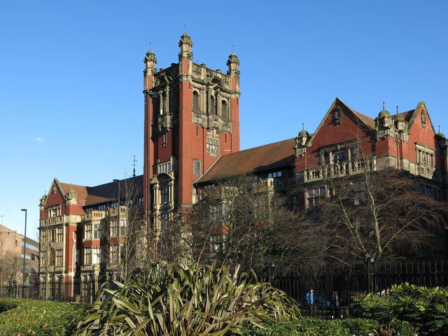 The Armstrong Building, University of Newcastle upon Tyne, Queen Victoria Road, NE1