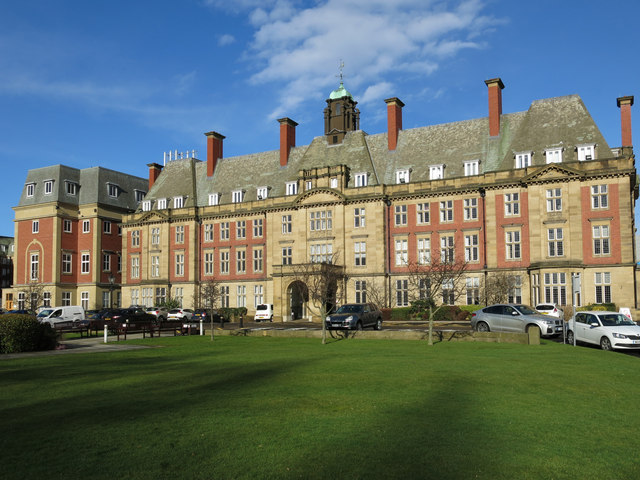 The Royal Victoria Infirmary Administration Block