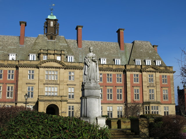 The Royal Victoria Infirmary Administration Block (2)