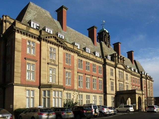 The Royal Victoria Infirmary Administration Block (3)