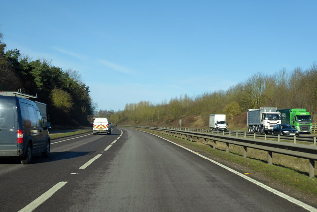 Northbound A10