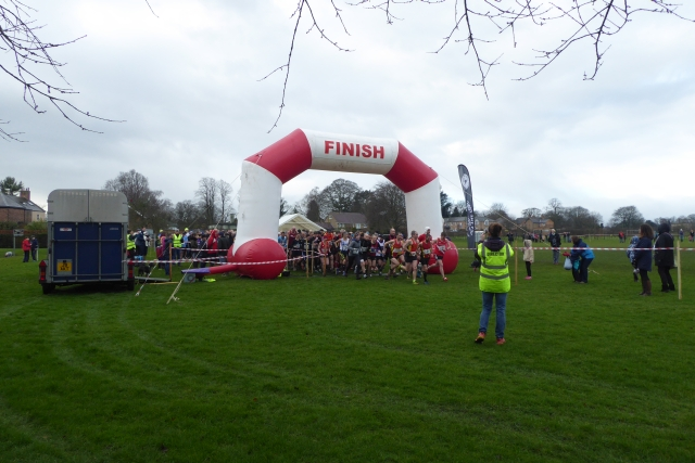 Start of the Muddy Boots 10k