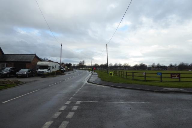 Junction on Clotherholme Road