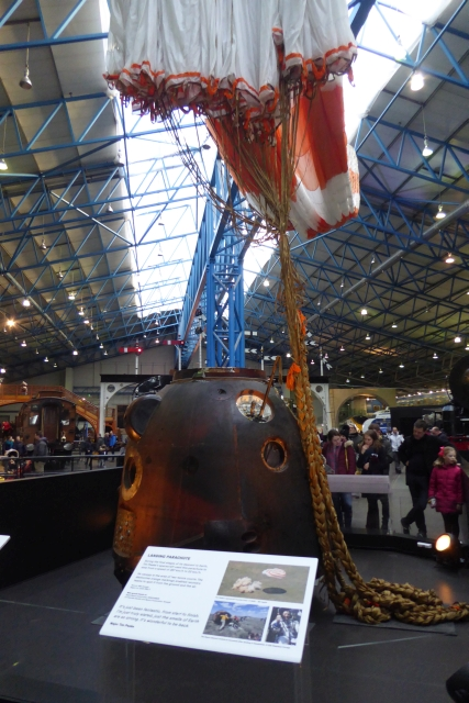 Soyuz on display