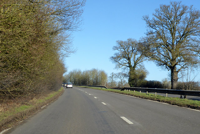 Northbound A10 by Robin Webster